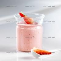 photo recette Mousse de fraises