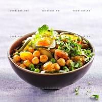 photo recette Tajine de légumes aux raisins secs