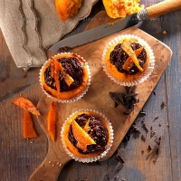 photo recette Muffins de patate douce au chocolat