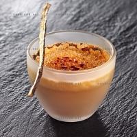 photo recette Crème brulée à la réglisse