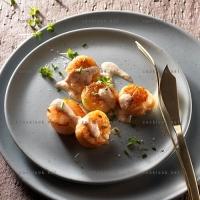 photo recette Noix de St Jacques et sauce à l'échalote
