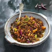 photo recette Curry de lentilles au poulet