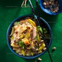 photo recette Riz au poulet à l'indonésienne (nasi goreng)