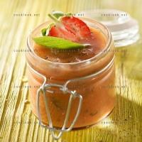 photo recette Gaspacho de tomates fraises