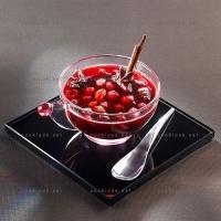 photo recette Cerises en soupe épicée