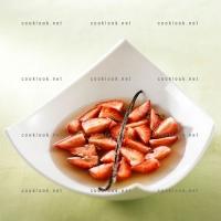 photo recette Fraises au sirop de verveine