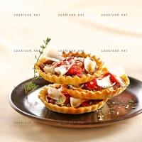 photo recette Tartelettes à la tomate confite