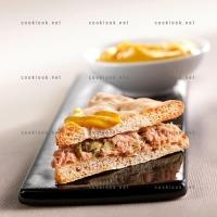 photo recette Triangle polaire de thon au curry