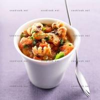photo recette Supions chauds en verrine