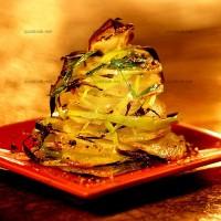 photo recette Pommes de terre et poireaux gratinés au piment de Cayenne