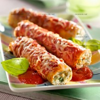 photo recette Cannellonis aux 2 fromages