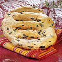 photo recette Fougasse aux olives