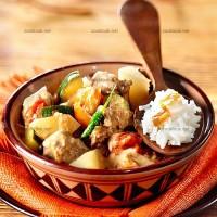 photo recette Mafé de bœuf aux légumes