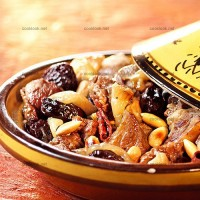 photo recette Tajine d'agneau, pruneaux et amandes
