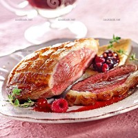 photo recette Magret de canard aux fruits rouges