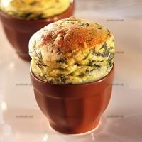 photo recette Petits soufflés d'épinards à l'oseille