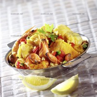 photo recette Riz Catalan aux poissons