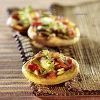 photo recette Tapas aux poivrons et pignons