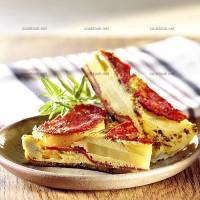 photo recette Tortilla pomme de terre - chorizo