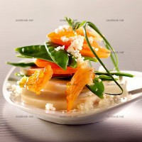 photo recette Chou-fleur en taboulé marin