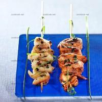 photo recette Brochettes de poisson à la japonaise