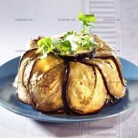 photo recette Canard en charlotte d'aubergines