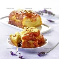 photo recette Cake aux abricots façon Tatin