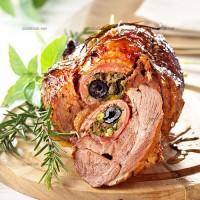 photo recette Epaule d'agneau farcie à la provençale
