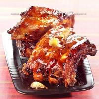 photo recette Porc caramélisé au miel et au gingembre