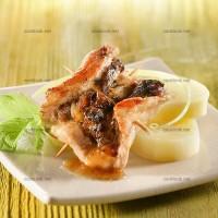 photo recette Roulades de porc aux pruneaux