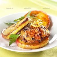 photo recette Galette de veau aux pommes rôties