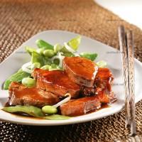 photo recette Médaillons de porc caramélisés