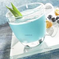 photo recette Cocktail bleu exotique