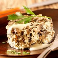 photo recette Gâteau de champignons