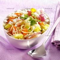 photo recette Riz aux légumes