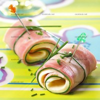 photo recette Roulades de jambon mozzarella