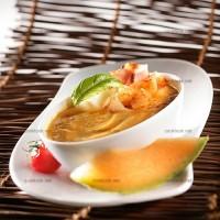 photo recette Velouté de melon et tomate