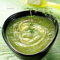 photo recette Soupe de brocolis au chèvre frais