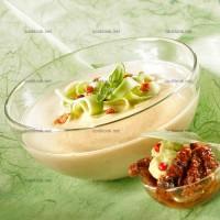 photo recette Soupe de concombre et avocat