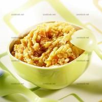 photo recette Purée de légumes et blanc de poulet