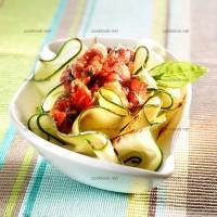photo recette Courgettes en sauce à la mexicaine