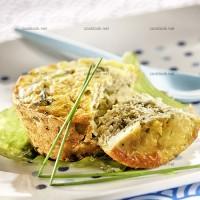 photo recette Gâteau de thon au wakamé