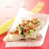 photo recette Pizzas de cabillaud