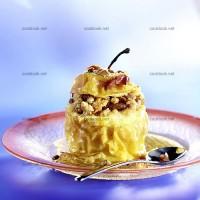 photo recette Pommes en crumble