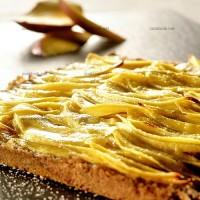 photo recette Tarte sablée aux mangues