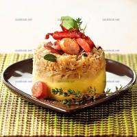 photo recette Timbale de choucroute