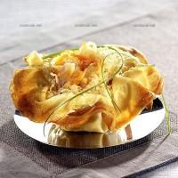 photo recette Choucroute en panier croustillant