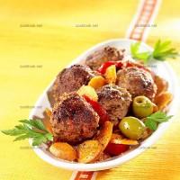 photo recette Boulettes de bœuf aux légumes