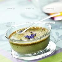 photo recette Flan au thé vert