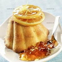 photo recette Gâteau à la confiture d'orange